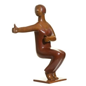Modern Art, Etc. | Xie Ai Ge | Yoga Series No. 10, Bronze, 2009