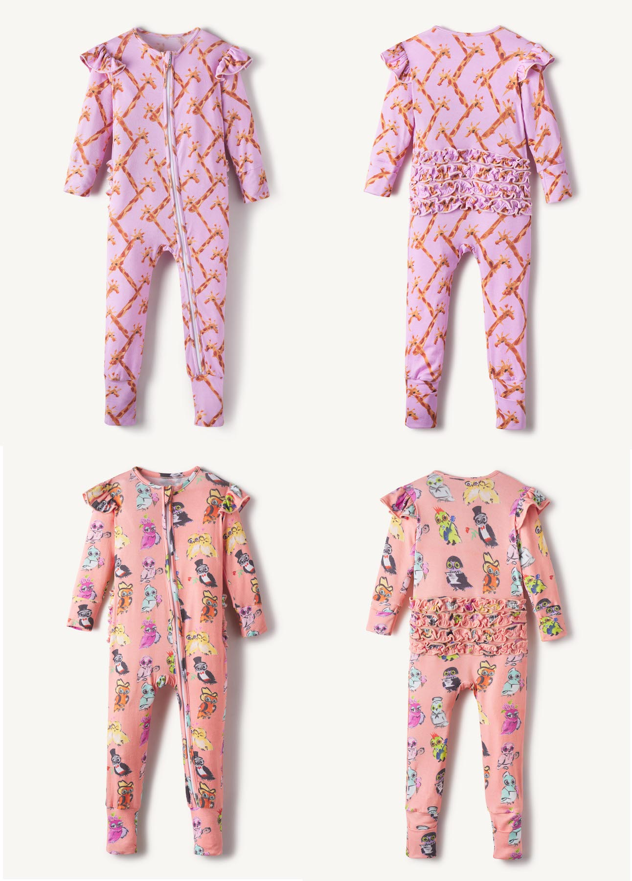 Gracyn-Sky-Children-Pinwall-Pin-Wall-Flat-Lay-Damion-Lloyd-Photography-Commercial-Product-Laydown-Apparel-Clothing-Los-Angeles-Orange-County-Onesie
